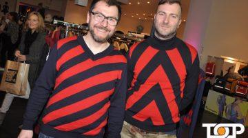 Jungdesigner und Unternehmer Uwe Rennschmied und Ulli Wagner