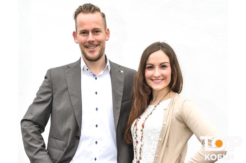 Florian Dick und Britta Schwadorf tanzen ab der Session 2017 als neues Tanzpaar