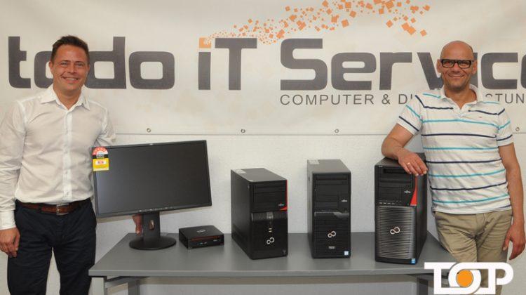 Torsten Rehberg (todo IT Service) Ali Rahnama (TOP KOELN)