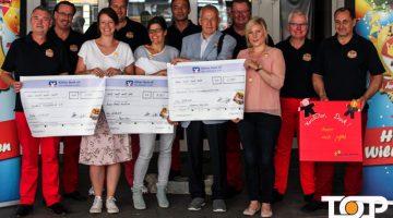 """""""Ävver met Geföhl e.V."""" überreicht die gesammelten Spenden"""