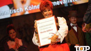 Marita Köllner wurde für ihre 40 jährige Mitgliedschaft in STKK geehrt
