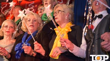 Das Mitsingkonzert der Colombinen begeisterte das Publikum