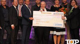 Über 200.000 Euro an Spenden freut sich u.a. auch Reiner Calmund