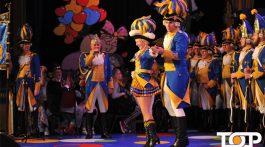 Das Tanzpaar Denise Willems und Marc Nelles begeisterte das Publikum