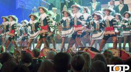 Mit dem Tanz der Kinder- und Jugendtanzgruppe startet Jan von Werth die Prunksitzung